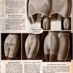Vintage '60s lingerie - panty girdles from 1968