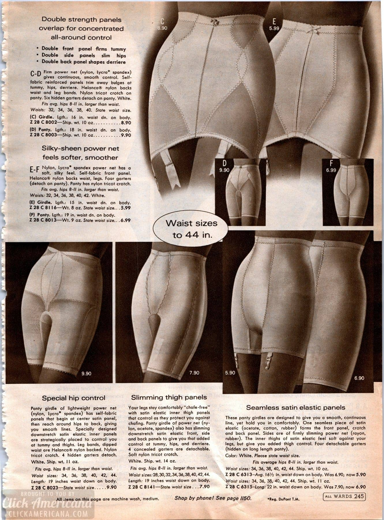 Pantyhose with pantygirdles