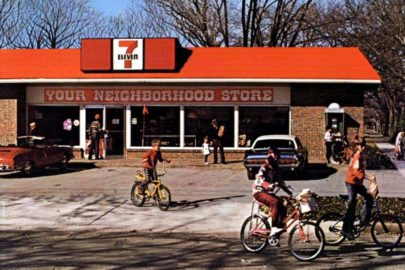 Vintage 7-Eleven stores