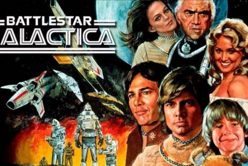 Vintage '70s Battlestar Galactica TV series