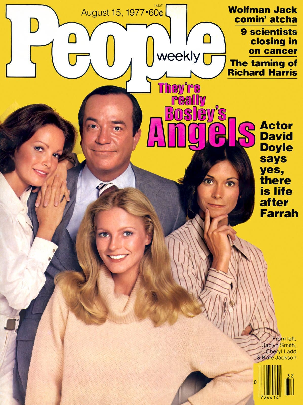 Vintage 70s Charlie's Angels cast - People magazine (1977)