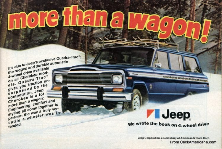Vintage '70s Jeep Cherokee A lot more than a wagon (1979)