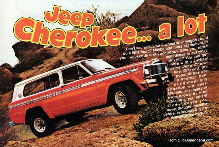 Vintage '70s Jeep Cherokee A lot more than a wagon