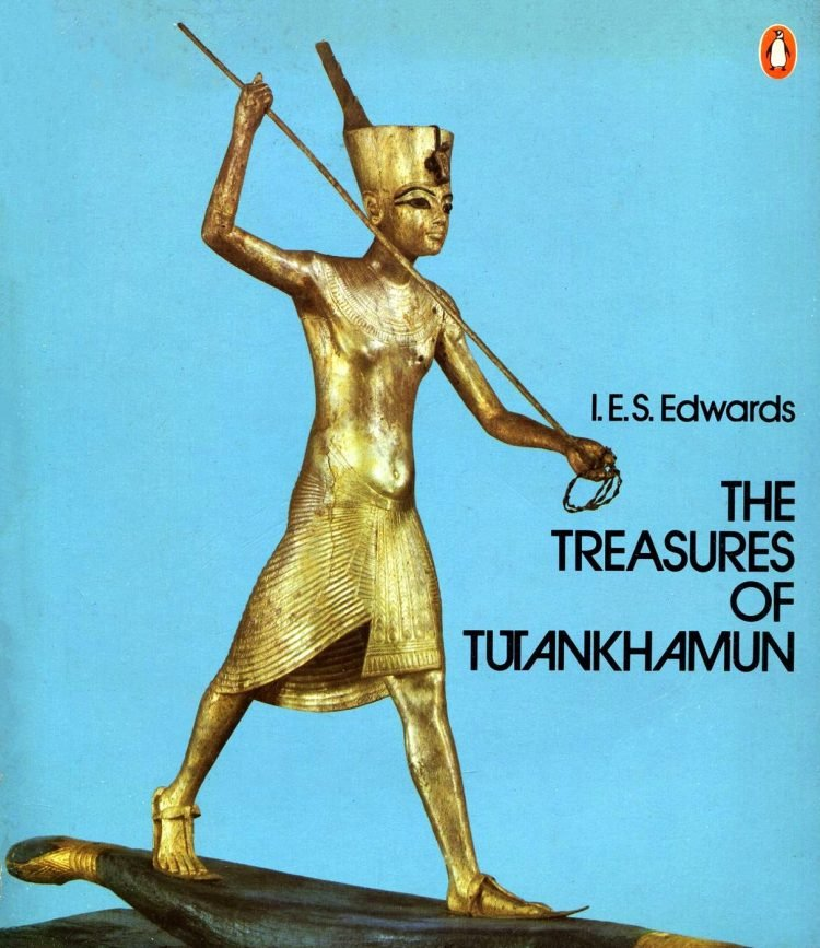 Vintage 70s Treasures of Tutankhamun book