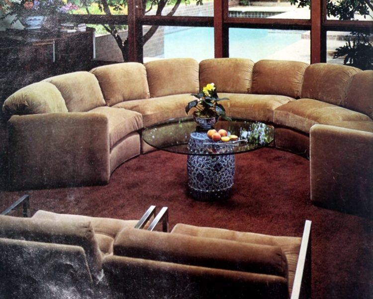 Vintage '70s curved sofas (4)