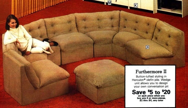 Vintage '70s curved sofas (6)