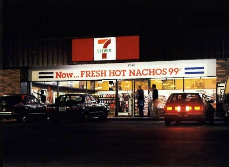 Vintage 80s 7-Eleven stores from 1984 (2)