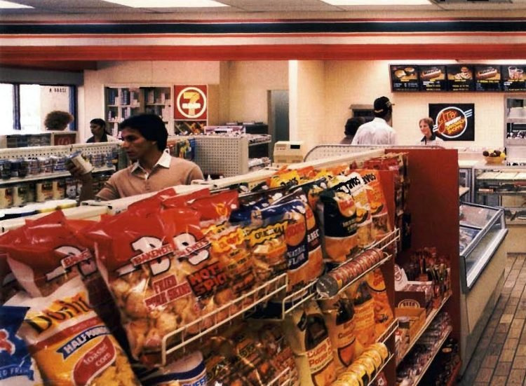 Vintage 80s 7-Eleven stores from 1984 (3)