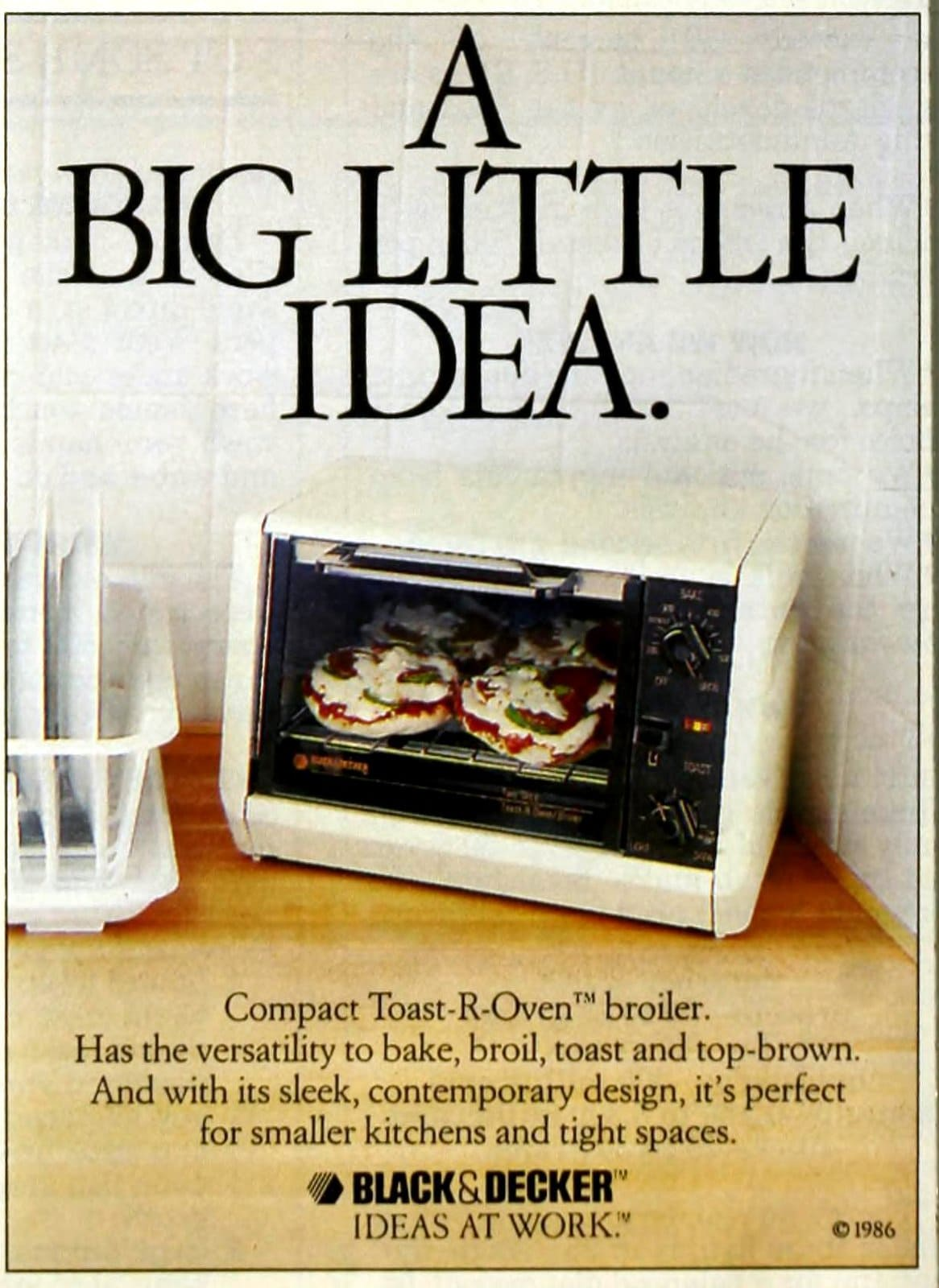 Vintage 80s Black and Decker toaster ovens from 1987 (1)