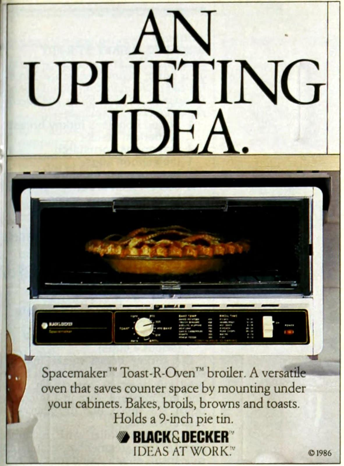 Vintage 80s Black and Decker toaster ovens from 1987 (4)