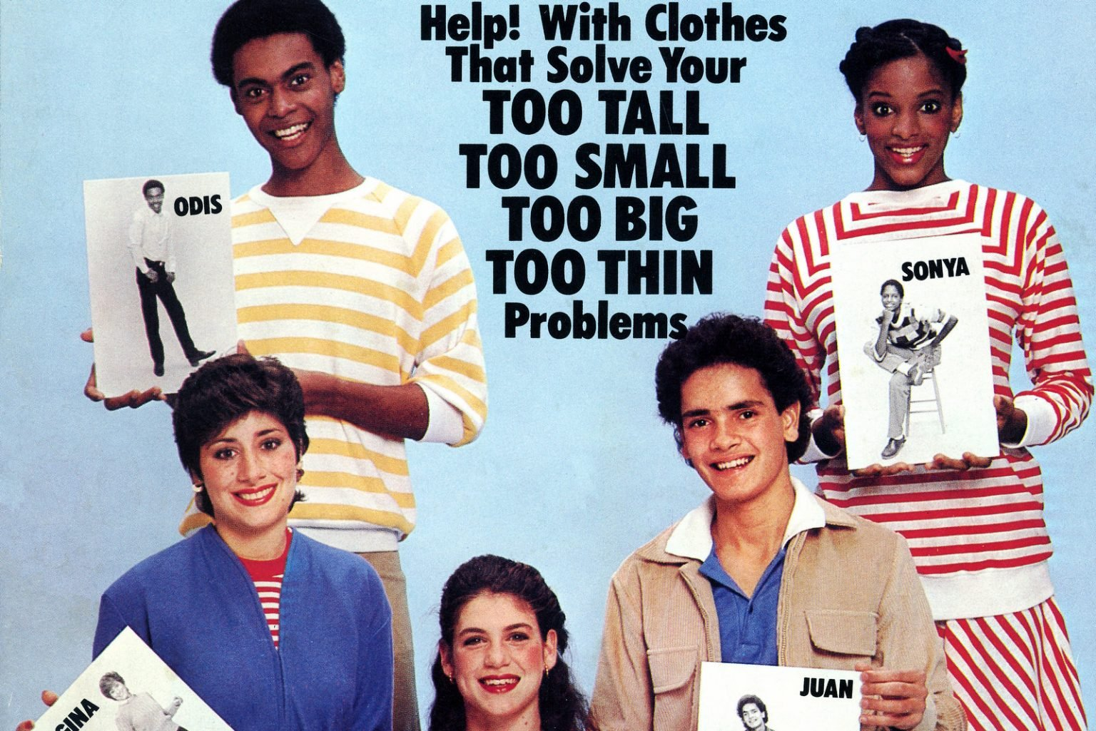 Vintage '80s fashion tips for teens for clothes that fit the shape you're in (1982)