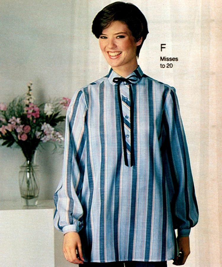 Vintage 80s maternity wear from 1983 (2)