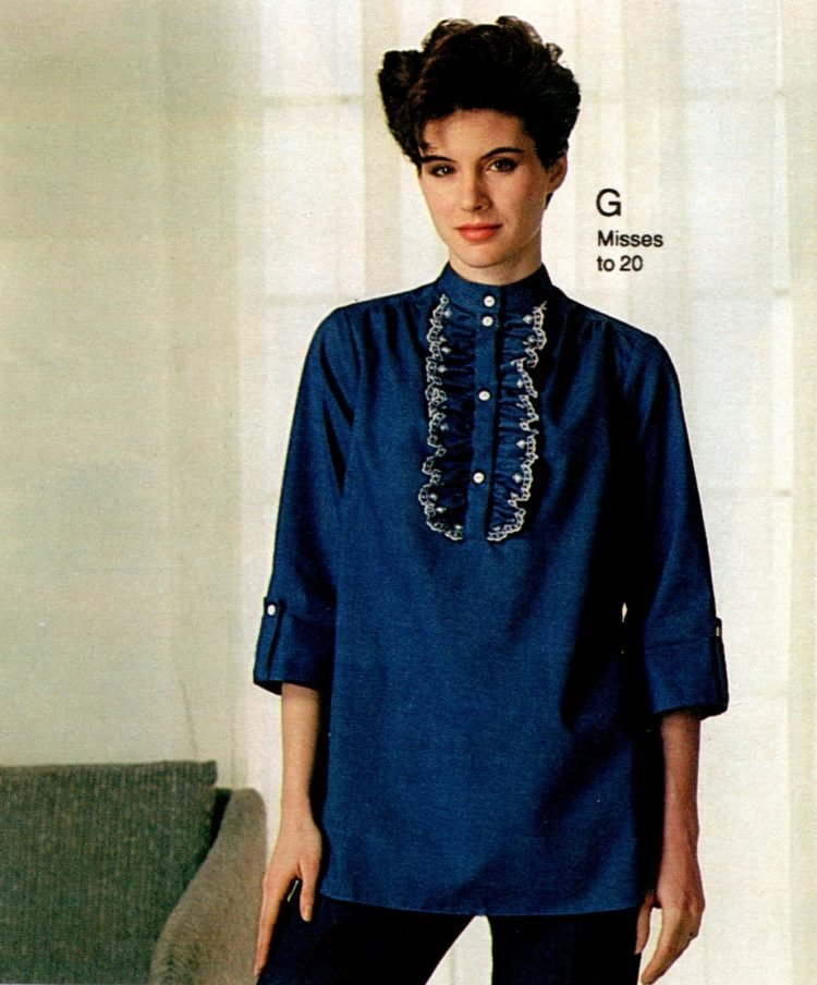 Vintage 80s maternity wear from 1983 (3)