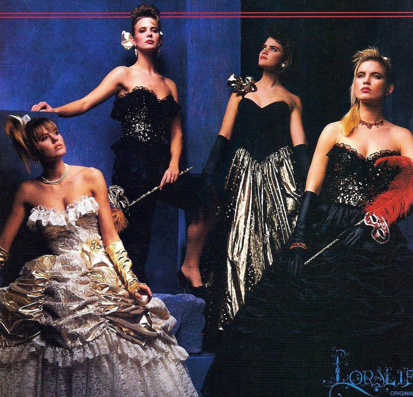 Vintage 80s prom dresses (2)