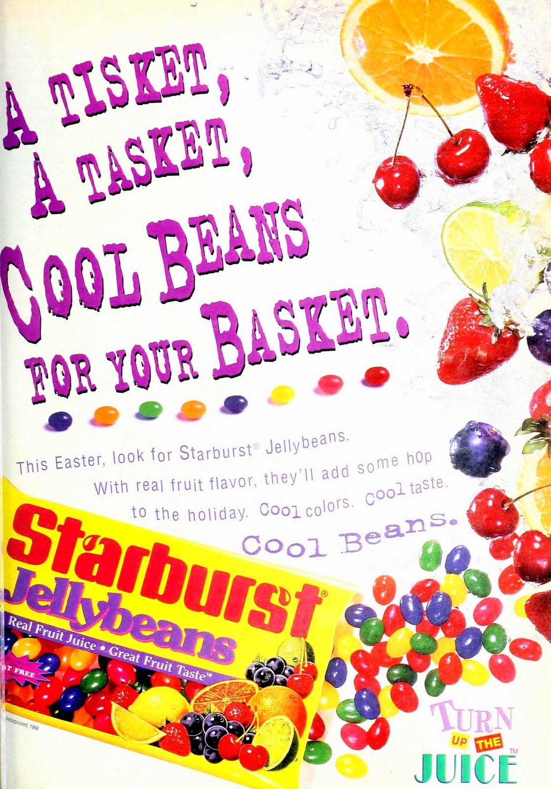 Vintage 90s Starburst Jellybeans (1995)