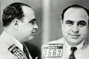 Vintage Al Capone Miami mugshots - Florida