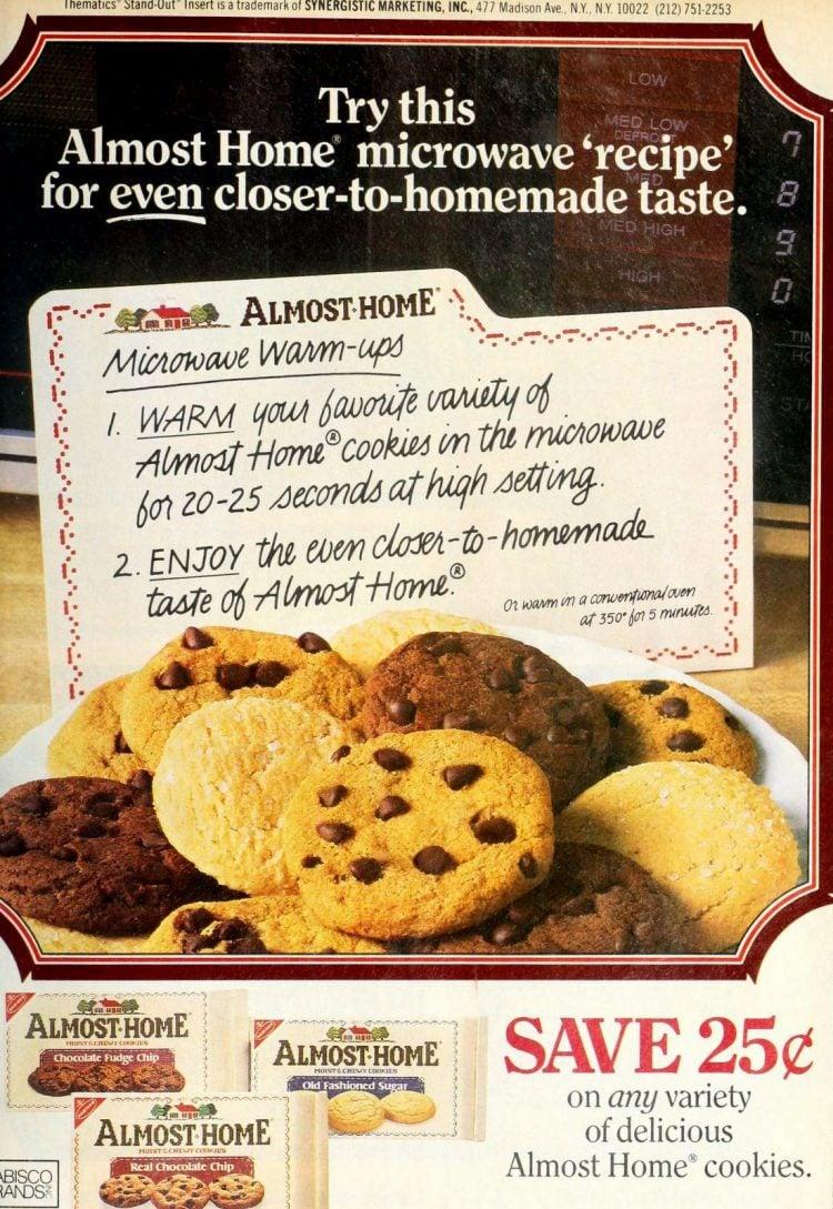 Vintage Almost Home packaged cookies - Nabisco 1987 (2)