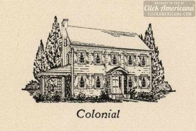 7 popular new home styles of the 1920s click americana American colonial architecture