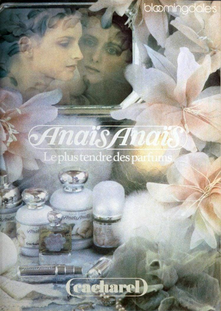 Vintage Anais Anais perfume from 1987