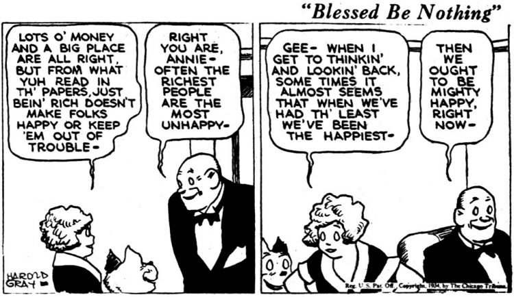 Vintage Annie comic strip from Nov 13 1934 (1)