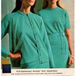 Vintage Antron knit separates from 1968