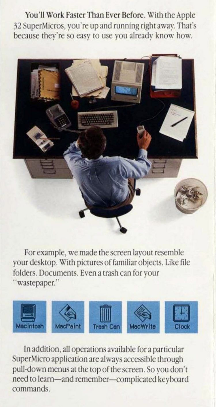Vintage Apple 32 SuperMicros - Retro tech from 1984