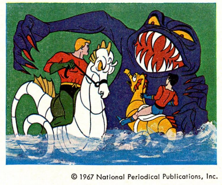 Vintage Aquaman TV cartoon 1967