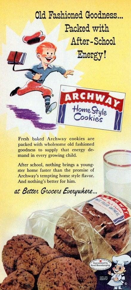 Vintage Archway cookies (1956)