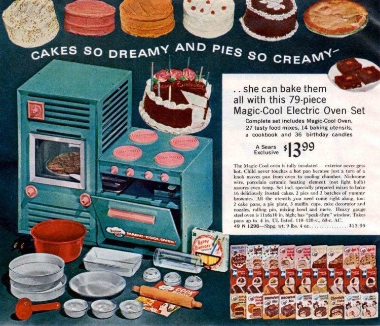 Vintage Argo Industries Magic-Cool Oven Junior Chef - 1960s
