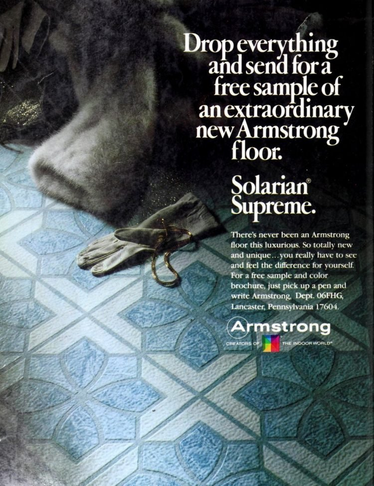 Vintage Armstrong vinyl flooring from 70s and 80s - From ClickAmericana com (3)
