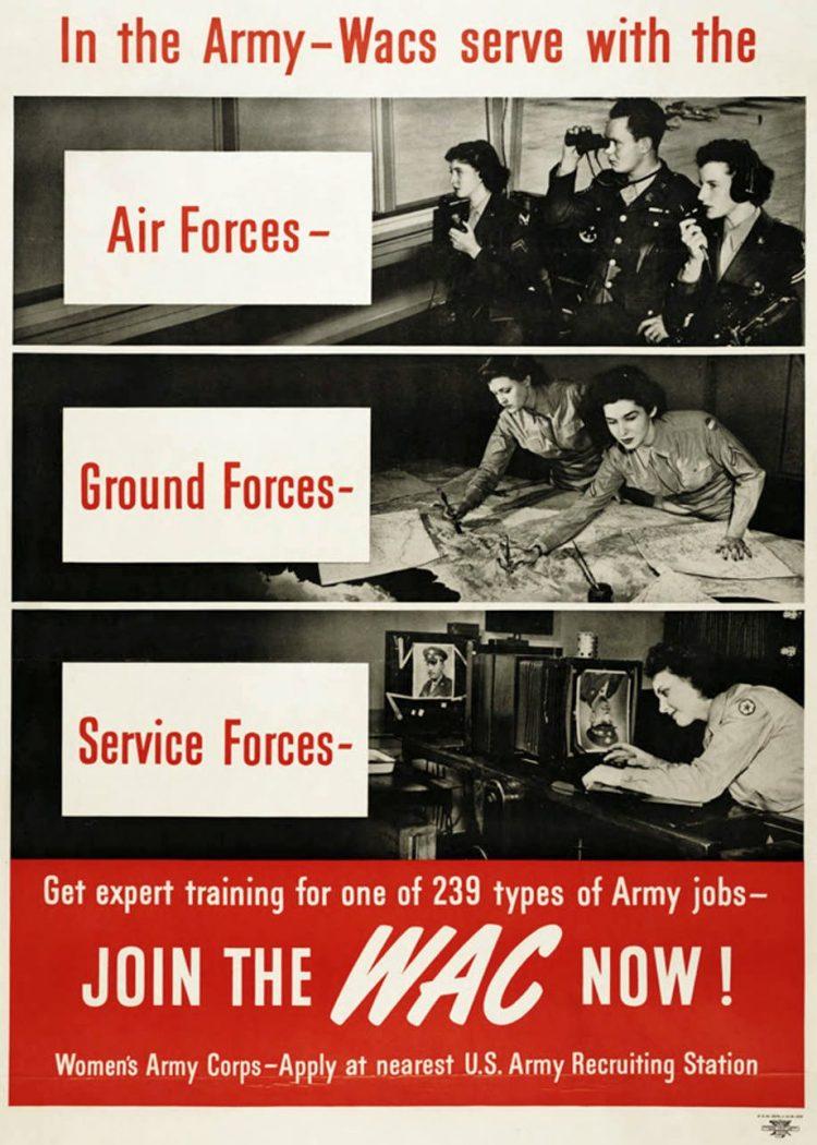 Vintage Army WAC