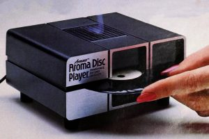 Vintage Aroma Disc machine from 1986