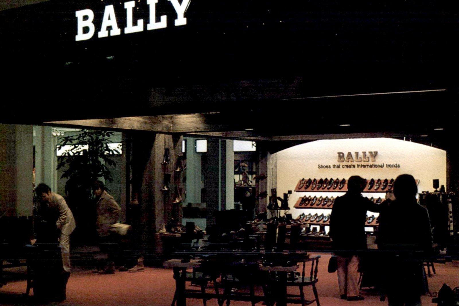 Vintage Bally shoe store (1971)