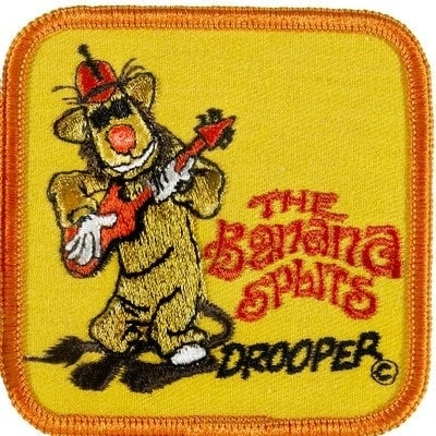 Vintage Banana Splits TV character patch - Drooper