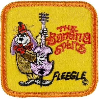 Vintage Banana Splits TV character patch - Fleegle