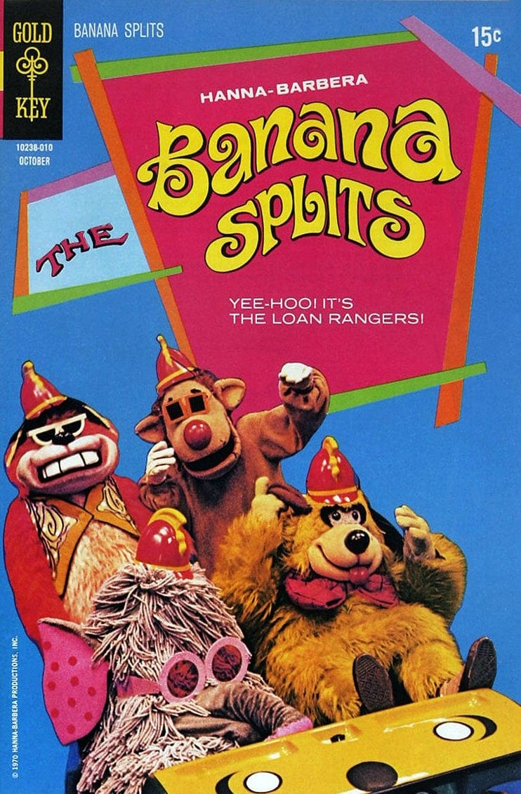 Vintage Banana Splits comic book 1970