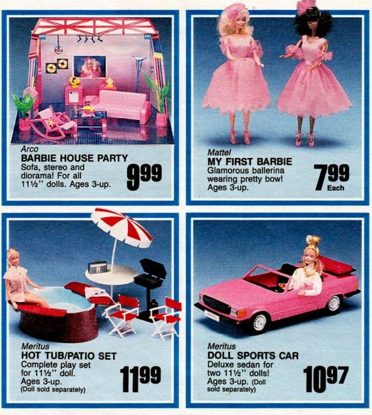 Vintage Barbie at Toys R Us 1987