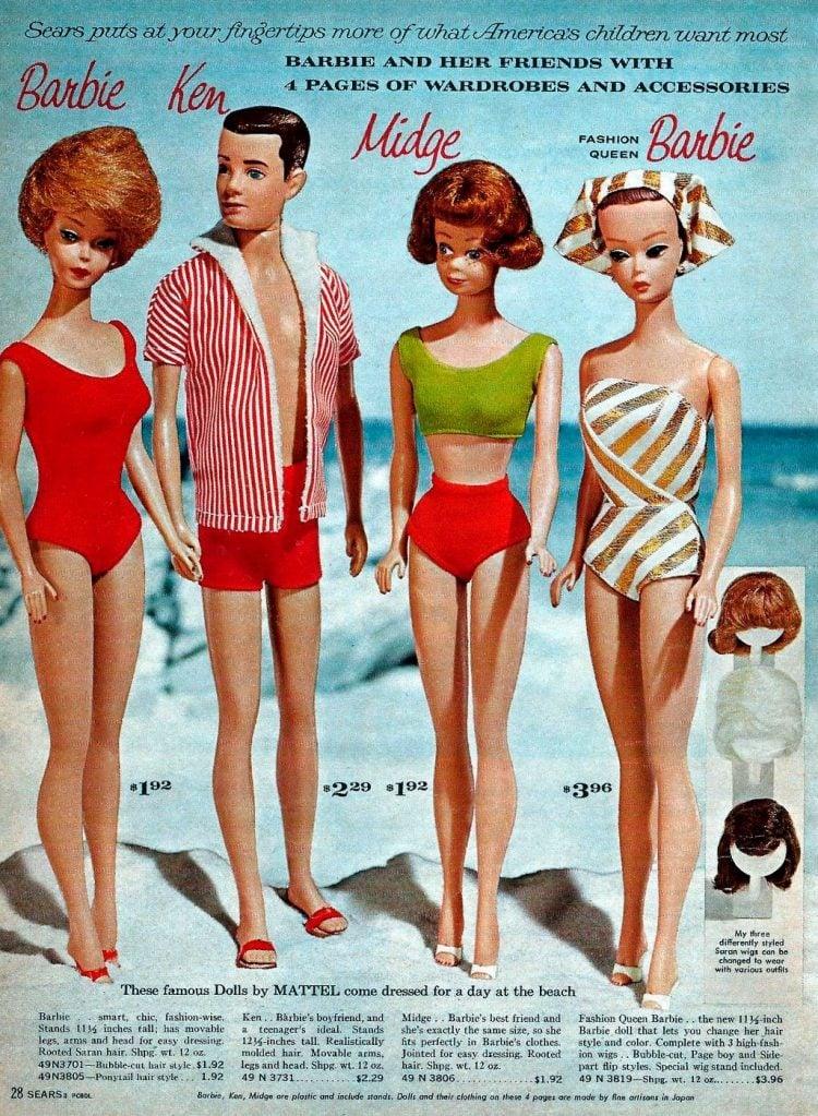Vintage Barbie dolls from 1963 (1)