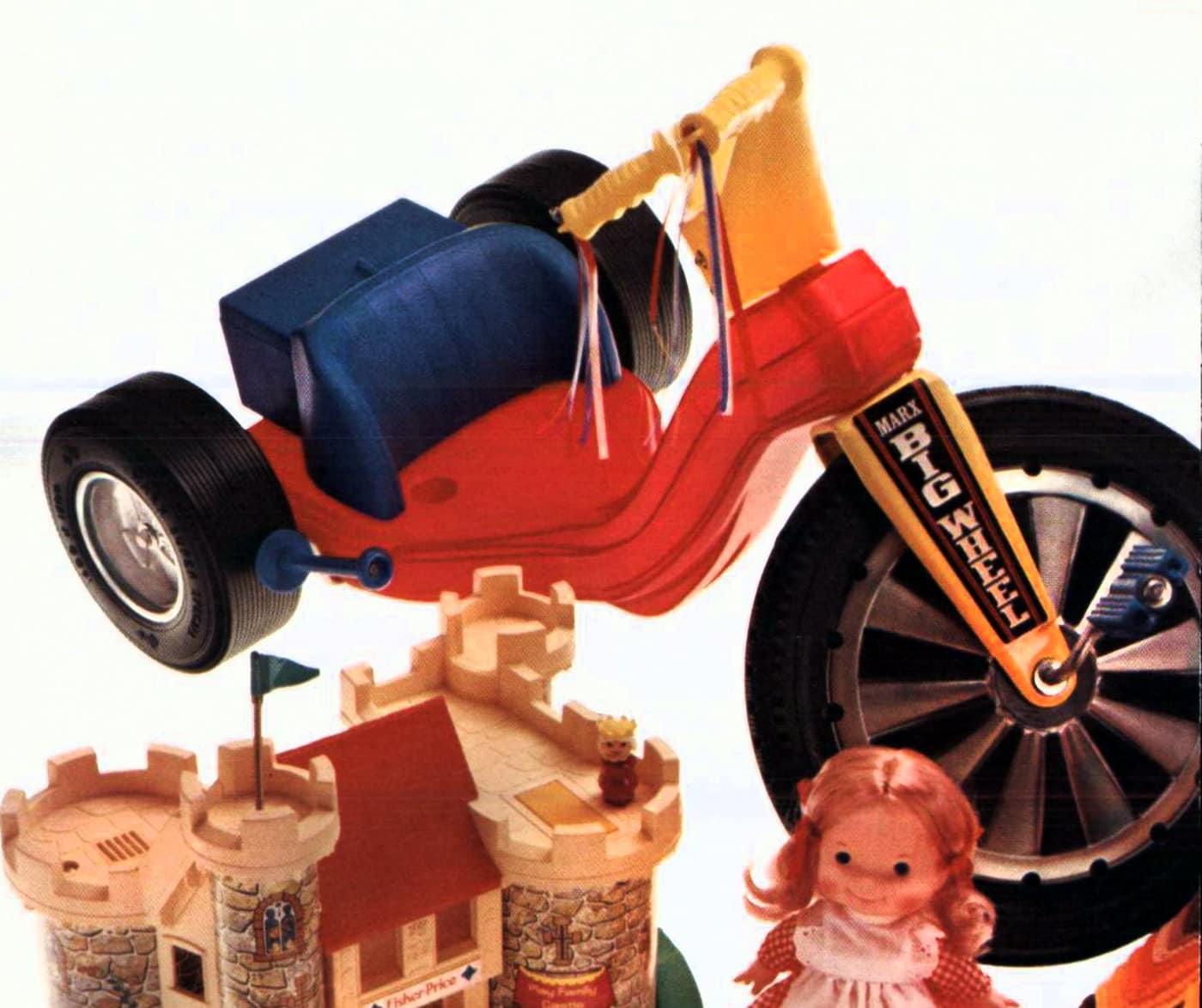 Vintage Big Wheel toys