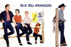 Vintage Blue Bell Wrangler Western jeans from the 50s