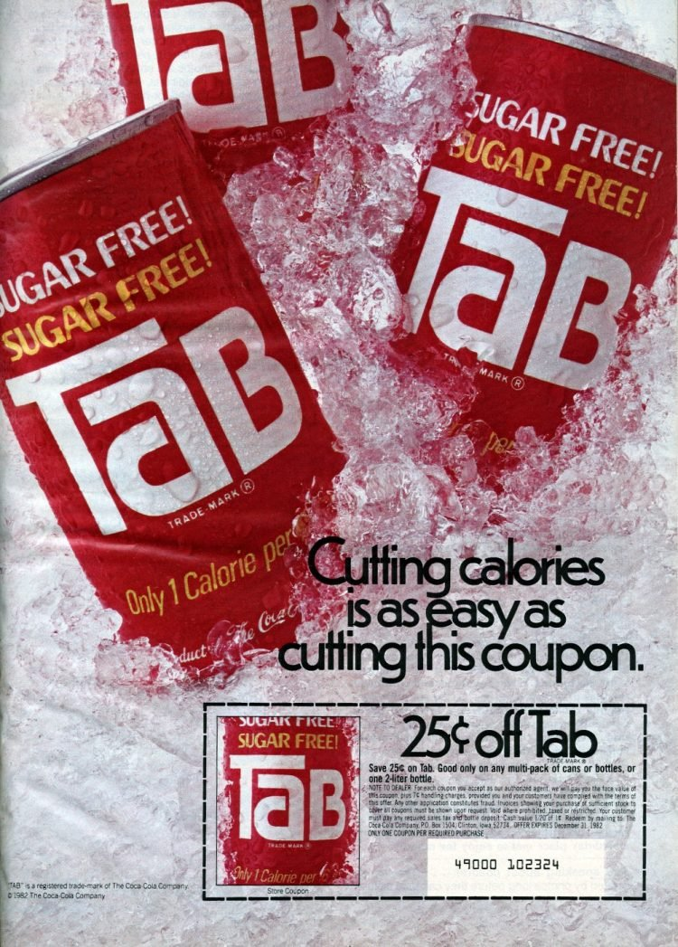 Vintage Body by Tab cola ad from 1982 (3)