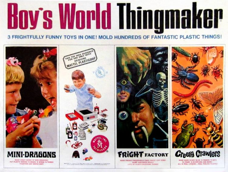Vintage Boy's World Thingmaker toy
