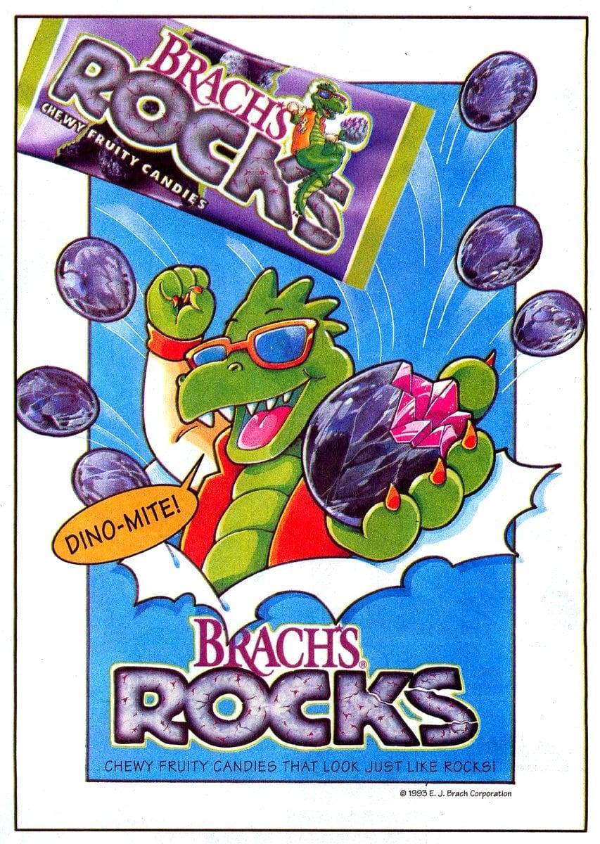 Vintage Brachs Rocks candy (1994)