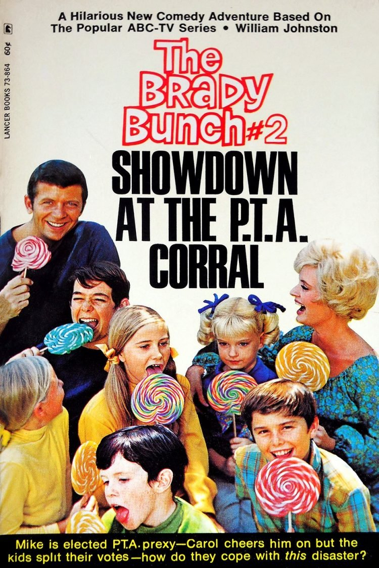 Vintage Brady Bunch book - Showdown at the PTA Corral