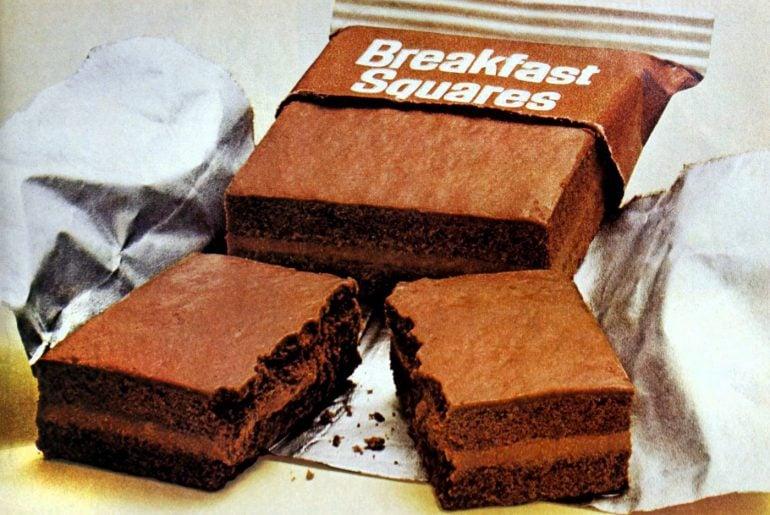 Vintage Breakfast Squares - General Mills 1974