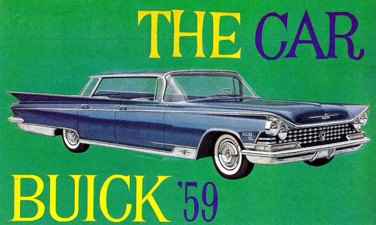 Vintage Buick Electra 1959