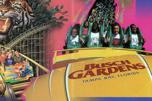 Vintage Busch Gardens See the theme park in Tampa, Florida through the 20th century