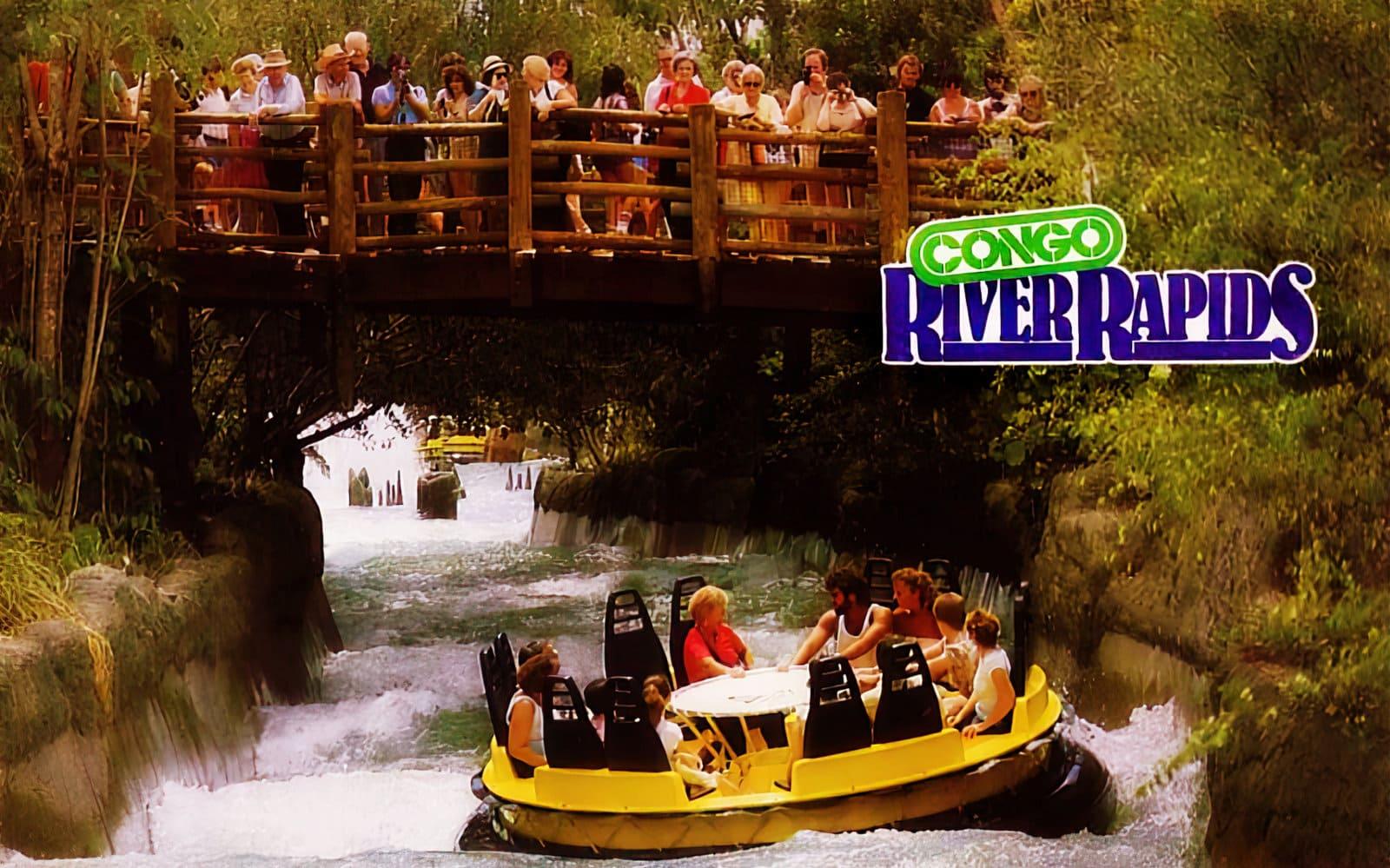 Vintage Busch Gardens Tampa Congo River Rapids (1970s)
