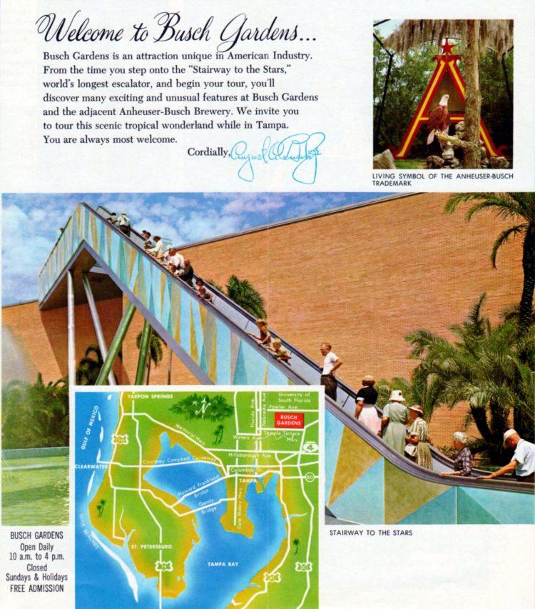 Vintage Busch Gardens - Tampa Florida 1960 (2)