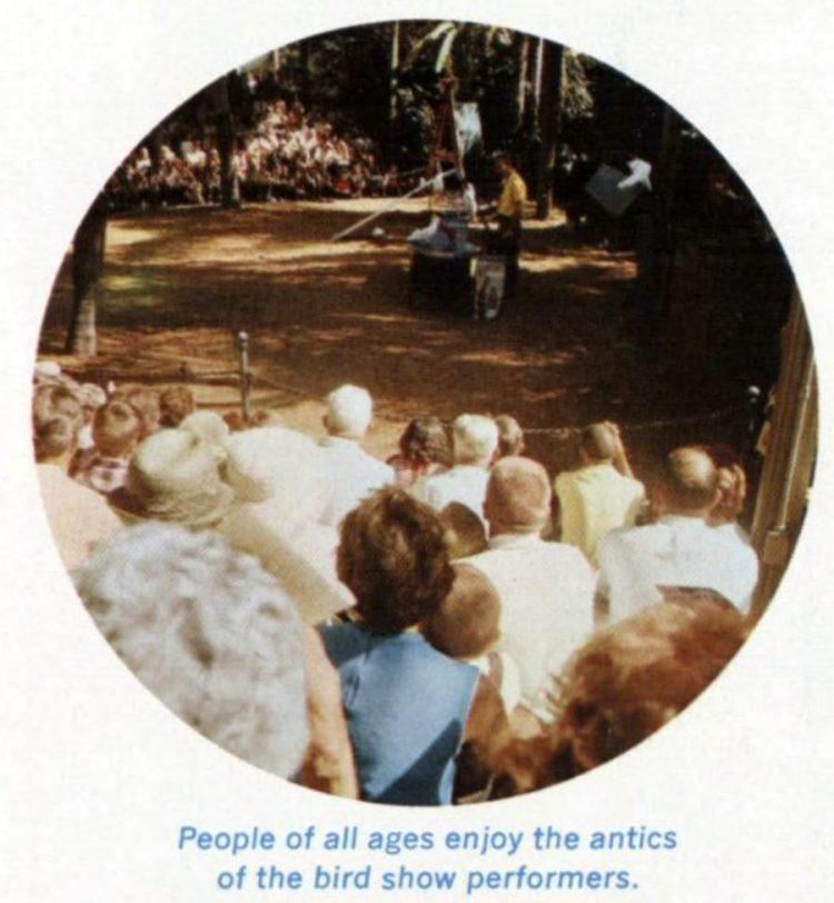 Vintage Busch Gardens amusement park 1966